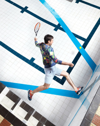 Cosmopola - Joseph Ford explored tennis #anamorphosis