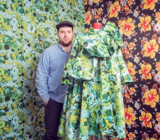 Cosmopola - Joseph Ford - The Observer Magazine, fashion designer Richard Quinn