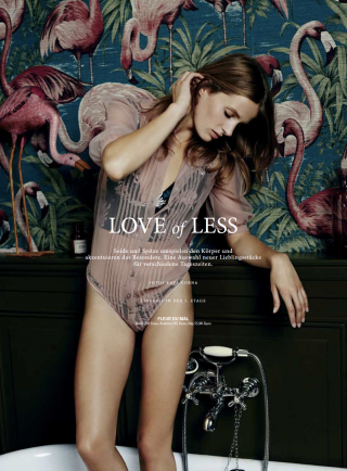 Cosmopola - LOVE of less #lingerie shot by KAVA GORNA