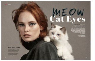 Cosmopola - MEOW - cat eyes by