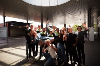 Cosmopola - Teamfoto with Deutsche Bahn #weloveworkingwithyou with