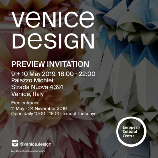 Cosmopola - YOU are invited! VENICE DESIGN 2019 with LACY BARRY!