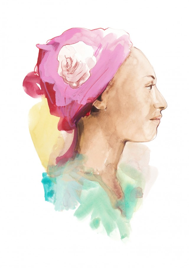 Cosmopola - Francesco Lo Iacono - Portrait of Zadie Smith for LuciaLibri.it