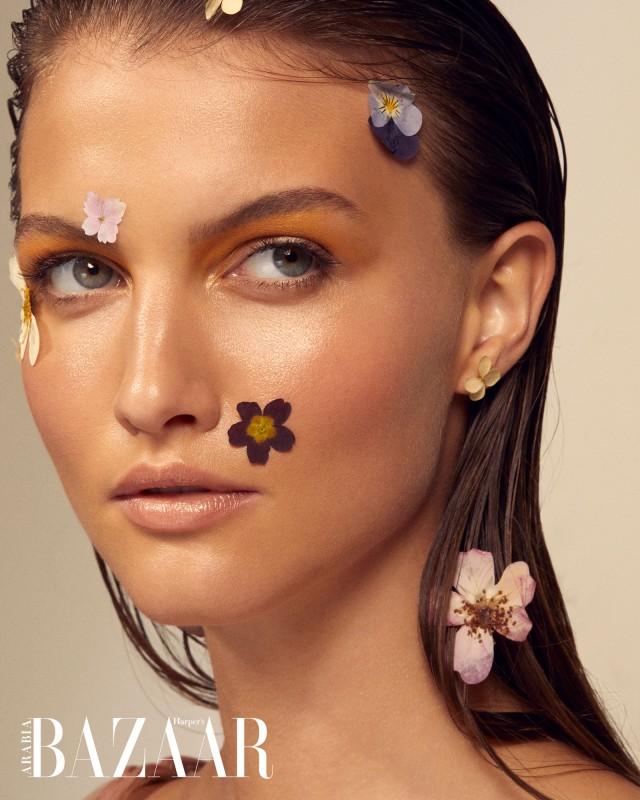 Hello Beauty Frauke Fischer For Harpers Bazaar Cosmopola