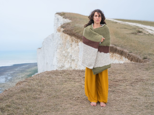 Cosmopola - Joseph Ford - Knitted Camouflage, Beachy Head