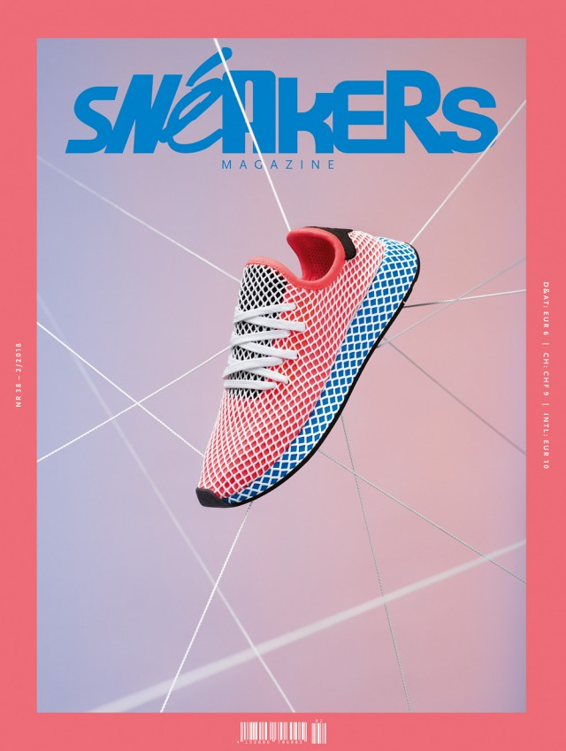 Cosmopola - Joseph Ford - Sneakers Magazine, Cover