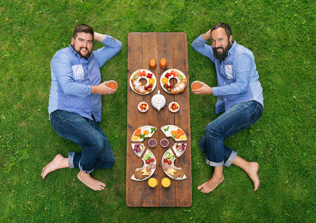 Cosmopola - Joseph Ford - Symmetry Breakfast, Observer Food Monthly