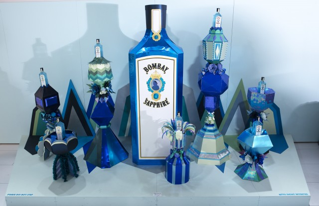 Cosmopola - Lacy Barry - Bombay Sapphire - Canvas Bar  #stircreativity