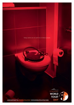 Cosmopola - Marc Thirouin - #wecantwait for #worldtoiletday, United Nation