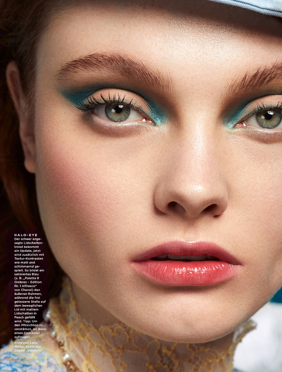 Frauke Fischer – Cosmopola – Chanel Advertorial, Gala Beauty